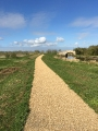 STANTON LOW PARK Reconstruction New Paths with Spray Tar & Shingle finish (2)